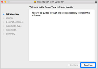 Download and Install the Epson View Uploader on your PC.